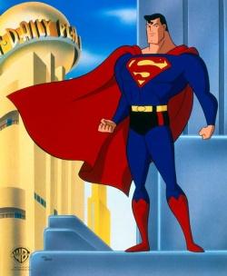 superman la s rie anim e la tour des h ros. Black Bedroom Furniture Sets. Home Design Ideas